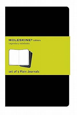 Picture of Journals Moleskine Cahiers Plain Set of 3