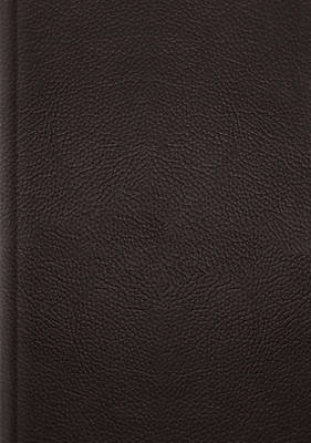 Picture of ESV Single Column Journaling Bible, Large Print (Buffalo Leather, Deep Brown)