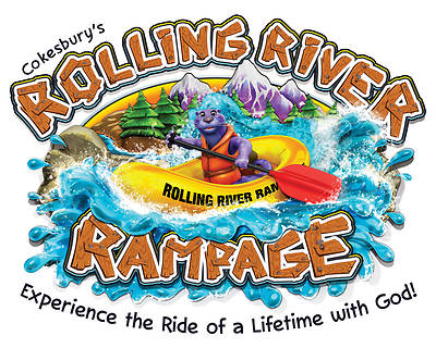 Vacation Bible School (VBS) 2018 Rolling River Rampage Downloadable High Resolution Logo