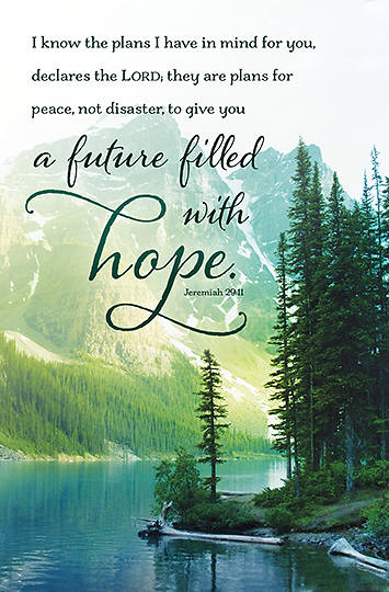 Picture of A Future Filled with Hope General Bulletin (Package of 100)