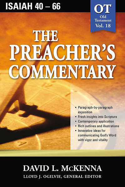 The Preachers Commentary Vol. 18