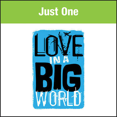 Picture of Love In A Big World Music: Just One MP3 Download