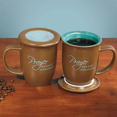 Picture of Prayer Changes Everything Mug and Coaster