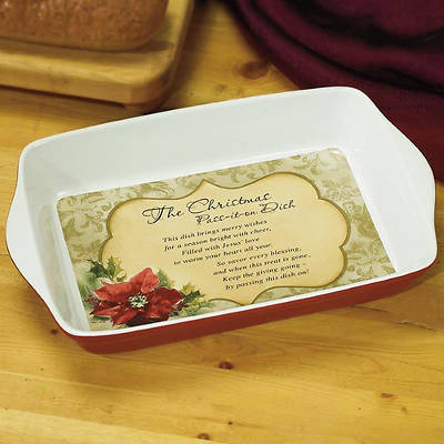 Christmas Pass It on Casserole Dish