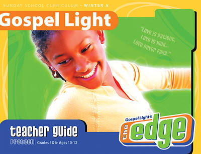 Gospel Light Preteen Teacher Guide Winter