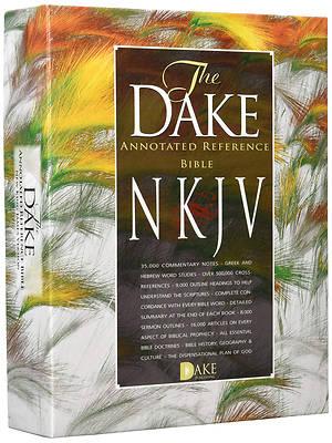 Picture of Dake NKJV Burgundy Bonded Leather