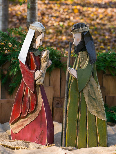 Holy Family Yard Figures