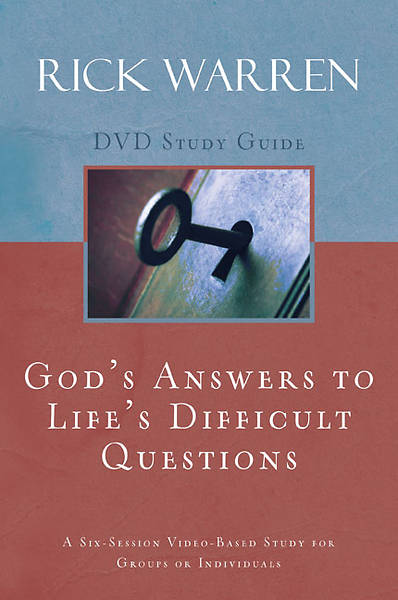 Gods Answers to Lifes Difficult Questions DVD Study Guide
