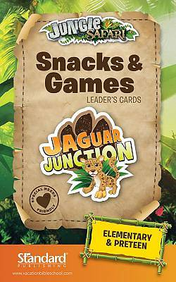Standard VBS Jungle Safari Snacks & Games Leaders Cards-Elem/PreTeen