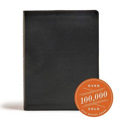 Picture of CSB Tony Evans Study Bible, Black Genuine Leather, Indexed
