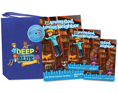 Picture of Deep Blue Connects One Room Sunday School Winter 2019-2020 Kit