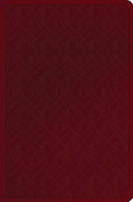 Picture of ESV Value Compact Bible (Trutone, Ruby, Vine Design)