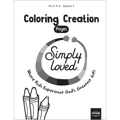 Picture of Simply Loved Q4 PreK-K Coloring Creations