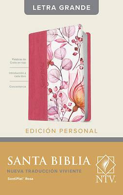 Picture of Santa Biblia Ntv, Edición Personal, Letra Grande (Letra Roja, Sentipiel, Rosa)