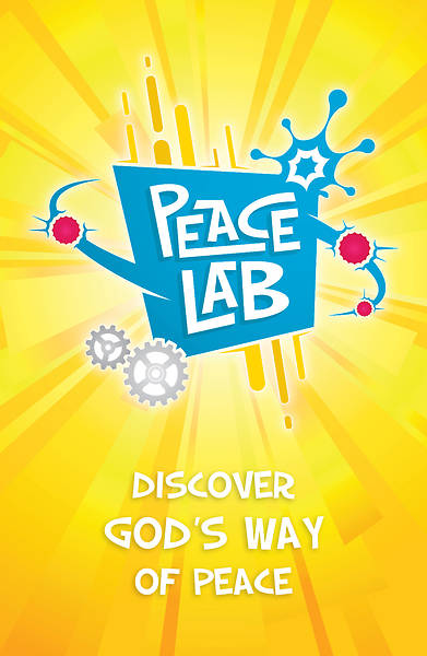 Vacation Bible School (VBS) 2018 Peace Lab: Inivitation Postcards