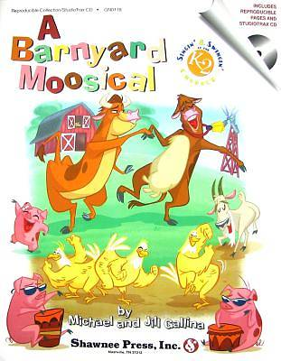 A Barnyard Moosical With CD (Audio)