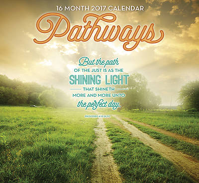 Picture of 2017 16 Month Calendar - Pathways
