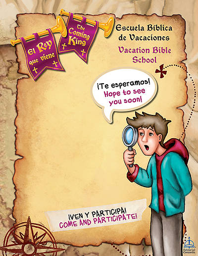 Concordia VBS 2014 El Rey que viene/The Coming King Bilingual Promotional Poster