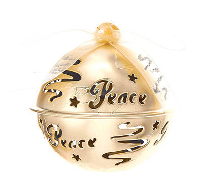 Peace Bell Ornament