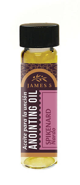 Picture of James 5 Spikenard Anointing Oil - 1/4 oz.