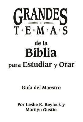 Picture of Grandes Temas de La Biblia Para Estudiar y Orar