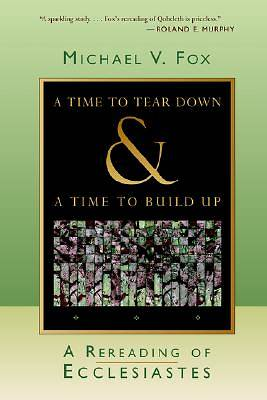 A Time to Tear Down and a Time to Build Up