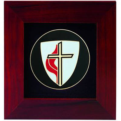Picture of United Methodist Cross Frame