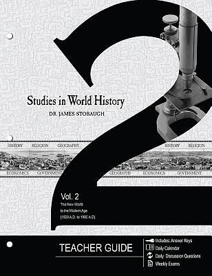 Studies in World History Volume 2 (Teachers Guide)
