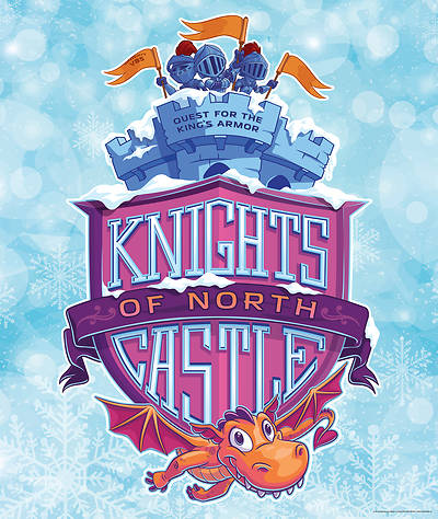 Picture of Vacation Bible School (VBS) 2020 Knights of North Castle Large Logo Poster
