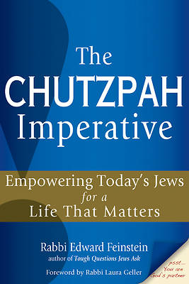 Picture of The Chutzpah Imperative