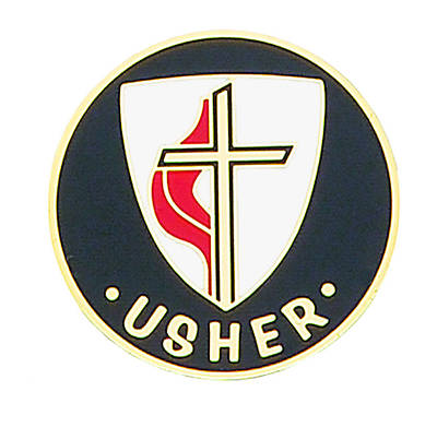 Picture of United Methodist Gold-Plated Bronze Usher Pin