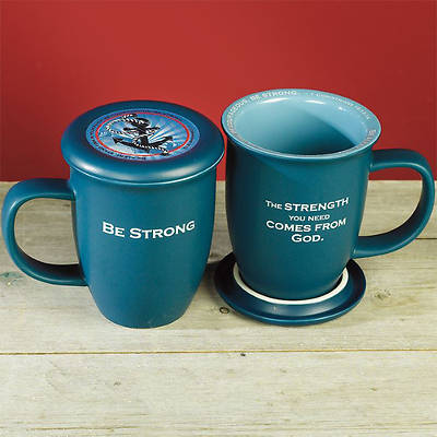 Picture of Be Strong Mug and Coaster Set