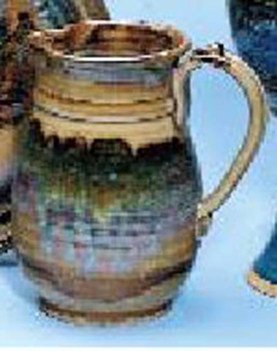Picture of Earthenware Flagon, Brown