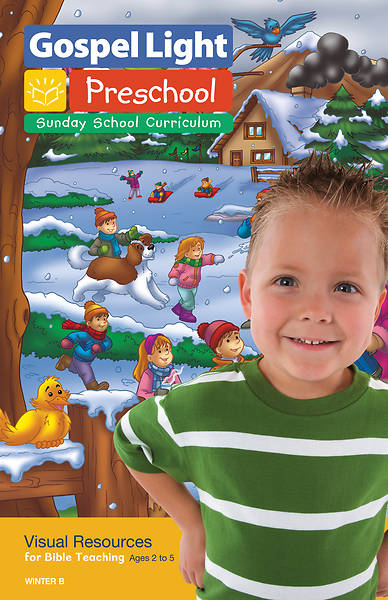 Picture of Gospel Light Preschool/PreK-K Visual Resources Year B Winter