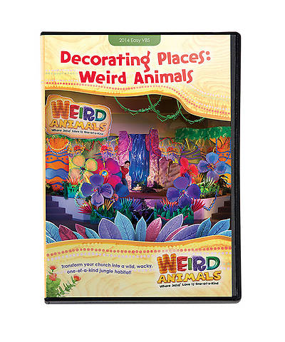 Group VBS 2014 Weird Animals Decorating Places DVD