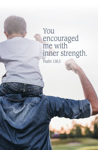 Inner Strength Father's Day Bulletin (Pkg of 50)