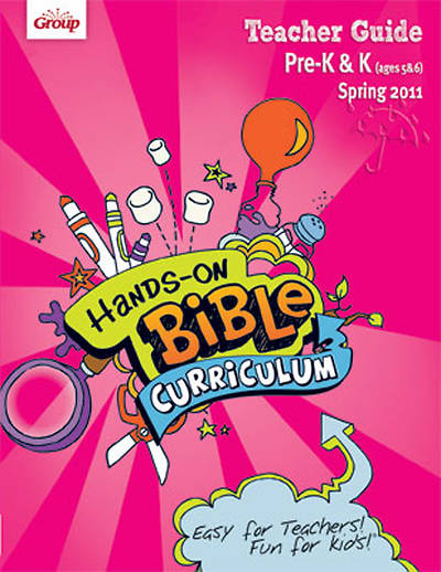 Picture of Group's Hands-On-Bible Curriculum Pre-K and K Teacher Guide Spring 2011