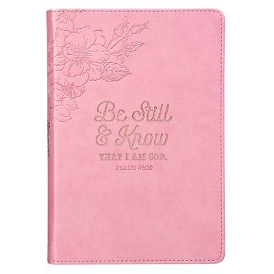 Picture of Journal Slimline Luxleather Be Still & Know - Psa 46