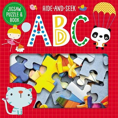 Picture of Jigsaw Puzzle and Book Hide and Seek ABC Set