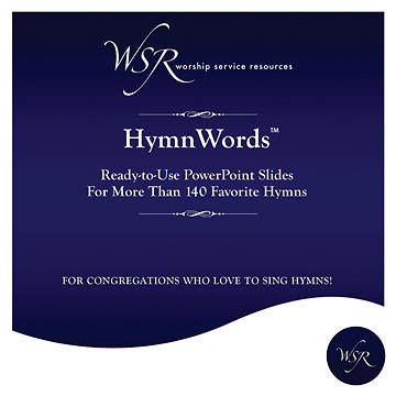 HymnWords - Ready-to-use PowerPoint Slides for Over 140 Hymns