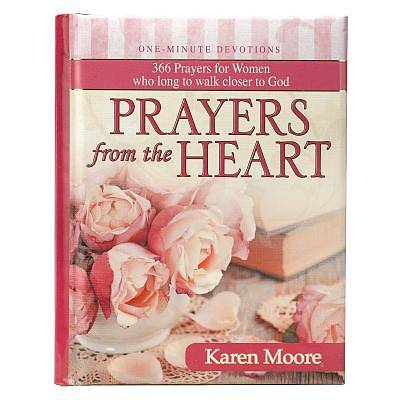 Picture of Prayers from the Heart Karen Moore Hardcover