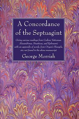 Picture of A   Concordance of the Septuagint
