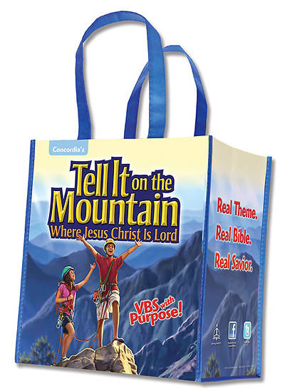 Concordia Vacation Bible School 2013 Go Tell It on The Mountain Tote Bags (pkg 5)