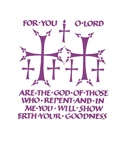 ASH WEDNESDAY BULLETIN [PACK OF 50]