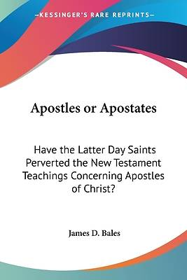 Picture of Apostles or Apostates