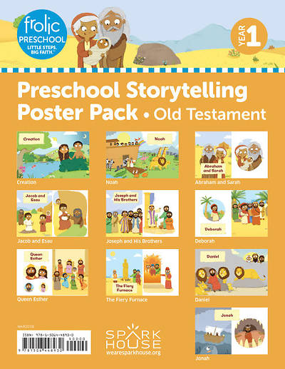 Picture of Frolic Preschool Storytelling Poster Pack Yr 1 Old Testament