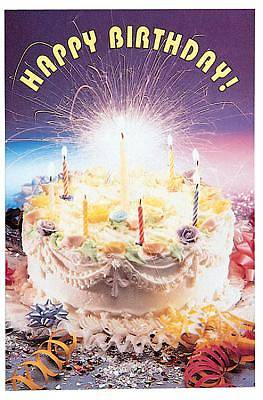 Birthday Cake Postcard (Package of 25)