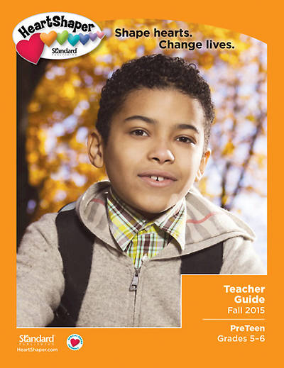 Picture of HeartShaper PreTeen Teacher Book Fall 2015