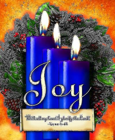 Advent Sunday 3 Blue Bulletin 2013, Large Size (Package of 50)