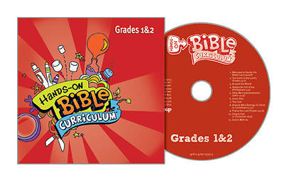 Picture of Hands-On Bible Curriculum Grades 1 & 2 CD Winter 2014-15